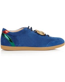 Bambi Suede Trainers