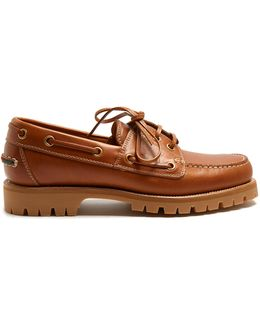Pacific Leather Deck Shoes