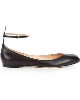 Tan-go Leather Flats