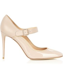Mary-jane Leather Pumps