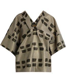 Kick Out Jacquard Kimono Top