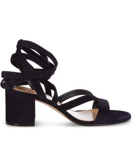 Janis Suede Sandals