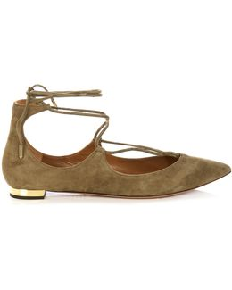 Christy Suede Flats
