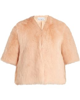 Short Shearling Coat