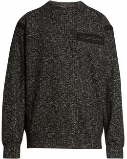 Cotton-tape Wool And Cotton-blend Sweatshirt