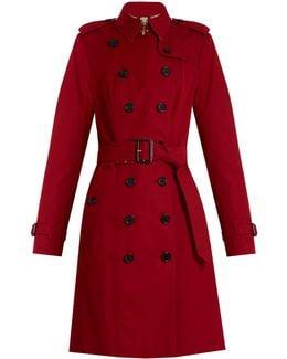 Sandringham Long Gabardine Trench Coat