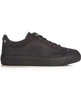 Ace Low-top Perforated-leather Trainers