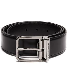 Smooth-leather Belt
