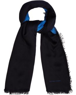 Bi-colour Wool Scarf