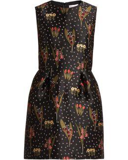 Blooming Garden-jacquard Dress