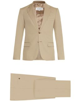 Notch-lapel Single-breasted Suit