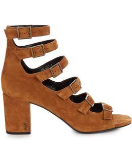 Babies Block-heel Suede Sandals