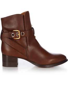 Max Leather Ankle Boots