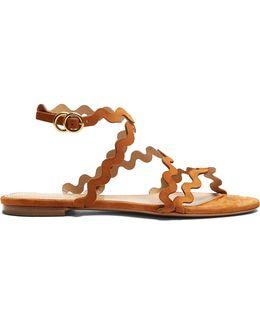 Melrose Suede Sandals