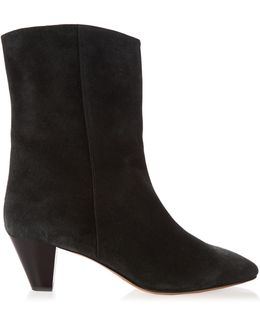 Dyna Suede Ankle-boots