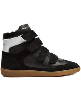 Bilsy Concealed-wedge Leather Trainers