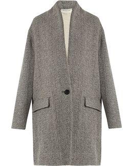 Edilon Herringbone Coat