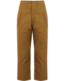 Isaac Straight-leg Trousers