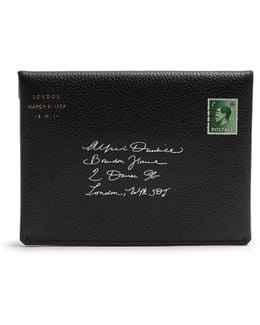 Boston Leather Envelope Passport Holder