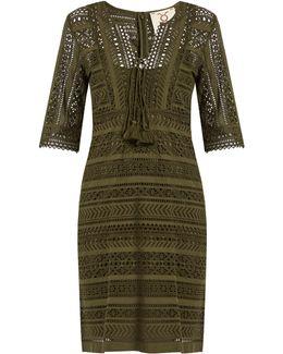Marlin Broderie-anglaise Cotton Mini Dress