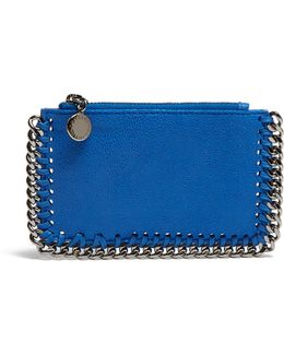Falabella Faux-suede Coin Purse And Cardholder