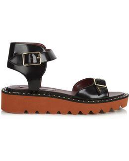 Odette Faux-leather Sandals