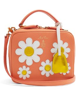Laura Baby Leather Cross-body Bag