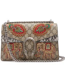 Dionysus Gg Supreme Embroidered Shoulder Bag