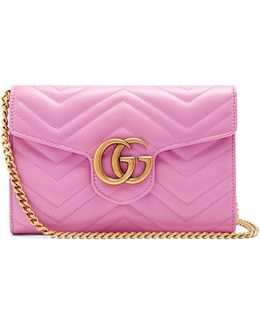 Gg Marmont Quilted-leather Cross-body Bag