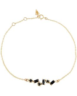Onyx & Yellow-gold Bracelet