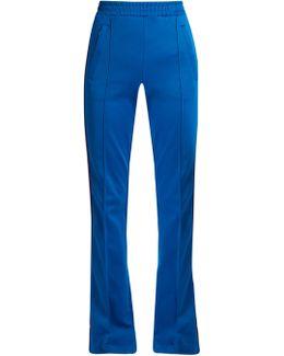 Web-striped Jersey Track Pants