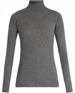 Talisia High-neck Long-sleeved T-shirt