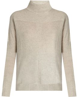 Rosa High-neck Cashmere Sweater