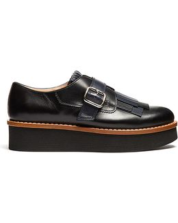 Fringed Leather Brogues