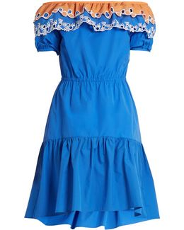 Pallas Off-the-shoulder Cotton Dress