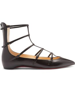 Toerless Muse Leather Flats