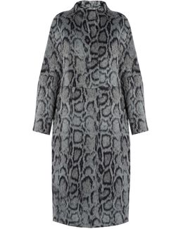 Balin Leopard-print Faux-fur Coat