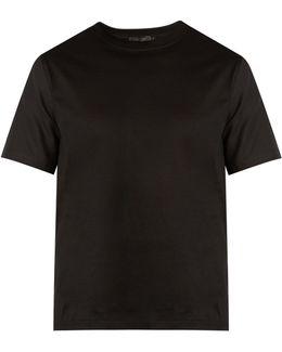 Patras Mesh-panelled T-shirt