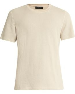 Perter Cotton-blend Knit T-shirt