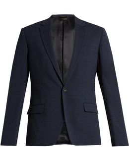 New Crosby Single-breasted Wool-blend Jacket