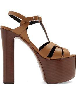 Betty Leather Platform Sandals