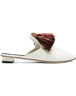 Carolsello Multi-tassel Slipper Shoes