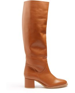 Forti Leather Knee-high Boots