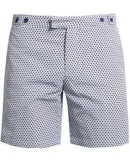 Tailored Alpoador-print Swim Shorts