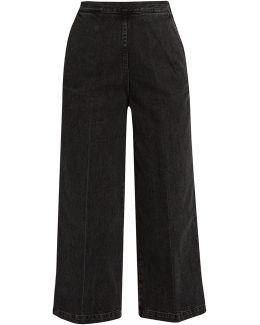 Limber High-rise Wide-leg Jeans