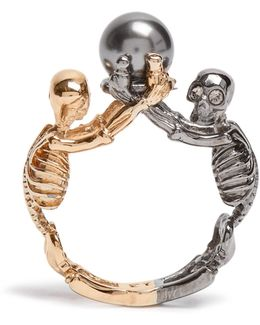 Double-skeleton Ring