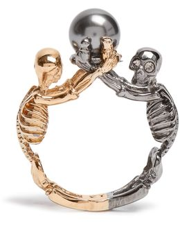 Double-skeleton Ring