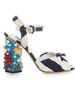 Under The Sea Embellished Sandals