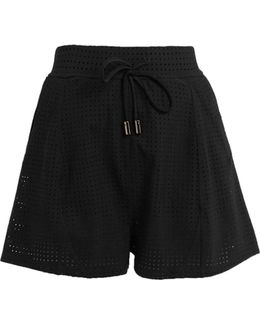 Optics Perforated Performance Shorts