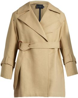 Kenneth Belted Trench Coat